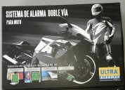 Alarma instalada con un ano de garantia accesorios - repuestos para motos