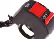 Switch moto suiche interruptor on off luces exploradoras accesorios - repuestos para motos
