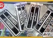 Calcomanias resinadas para tijera de moto accesorios - repuestos para motos