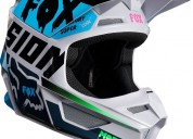 Casco fox v1 czar lt coleccion 2019 cascos - ropa de motociclista