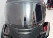 Casco shox con pinlock shaft hjc mt cascos - ropa de motociclista
