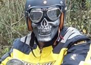 Vendo casco moto scrambler o cafe raicer cascos - ropa de motociclista