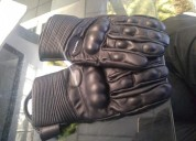 Guantes para moto miguel caballero cascos - ropa de motociclista