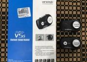 Intercomunicadores motocicleta vimoto v5 cascos - ropa de motociclista