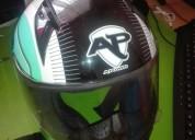 Casco a power excelente estado cascos - ropa de motociclista