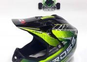 Casco nitro para bicicross o motocross cascos - ropa de motociclista