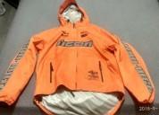Chaqueta icon talla m impermeable cascos - ropa de motociclista