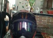 Casco spark con gafas cascos - ropa de motociclista
