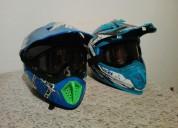 Cascos strong en buen estado negociables cascos - ropa de motociclista