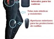 Pantalon jeans moto con protecciones hombre y dama fabrica cascos - ropa de motociclista