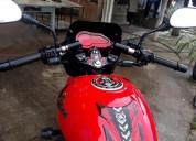 Vendo moto pulsar 180 modelo 2014 color rojo