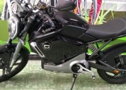 Moto electrica starker super soco color negro