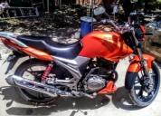 Se vende moto moto haojue cool 150 cel color anaranjado