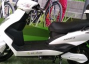 Moto electrica starker avanti 2 0 color blanco