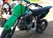 Pit bike ycf 150 pailot no yz rm color verde