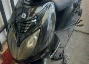 moto 4 tiempos freno disco automatica color negro
