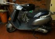 Vendo moto piaggio skipper color gris