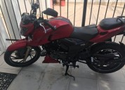 Venta moto apache color rojo