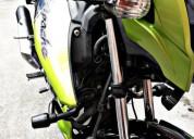 Se vende moto apache 160 color verde