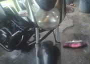 De oportunida moto barata color negro