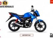Honda cb 110 dlx nueva es nueva color azul