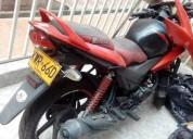 Honda cbf 125 color rojo