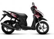 Honda click modelo 2017 color negro