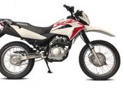 Honda xr modelo 2018 color blanco