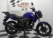 Honda invicta color azul