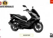 Honda pcx 150 nueva es nueva color negro