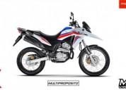 Honda xre 300 rally nueva es nueva color blanco