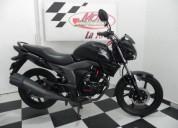 Honda invicta 150 color negro