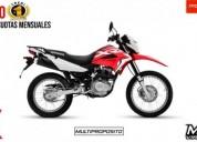 Honda xr nueva es nueva color rojo