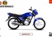 Honda cb1 125 pro nueva es nueva color azul