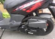Moto crox sym 2017 23 000 km color negro