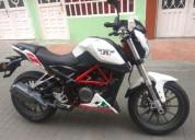 Benelli tnt 25 250 cc 2017 color blanco