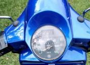 Vespa 96 lista para traspaso todo al dia color azul