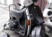 Moto vespa y auteco bajaj color negro