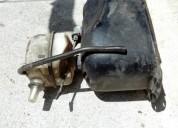 Tanque de vespa gasolina y aceite color gris