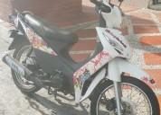 Moto victory one 2018 color blanco