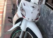 Moto auteco victory one 2018 color blanco