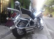 Vendo moto chopers marca amc color plateado