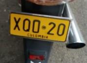Se vende moto ano 2007 con solo propieda color rojo