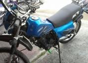 Vendo akt 2008 color azul