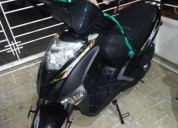Vendo moto auteco twist modelo 2018 color negro
