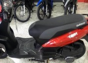 Kymco twist modelo 2019 color rojo