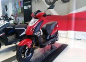 Kymco twist 125 color rojo