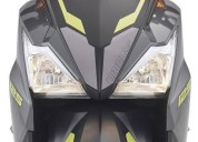 Moto kymco urban s color gris