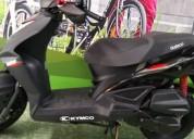 Kymco agility go color negro