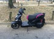 moto agility barata color negro